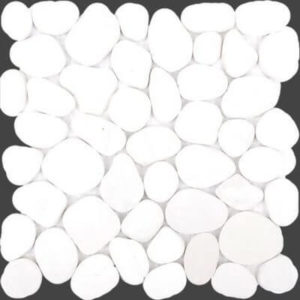 Picture of White pebble mosaic | 300 x 300mm | Make Offer | South Africa