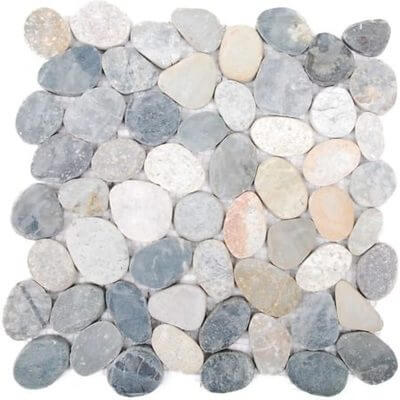 Picture of Natural Stone Pebble Mosaic | 300 x 300mm | Order Online | South Africa