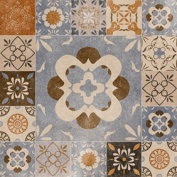 Picture of Mixed Pattern Ceramic Floor/Wall Tile | 400 x 400mm | Order Online | South Africa