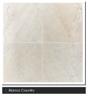 Picture of Bianco Country Filled & Honed Travertine Tile | 610 x 610mm | Order Online | South Africa