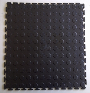 Picture of Black Rubber interlocking floor tiles | | Buy Online | South Africa