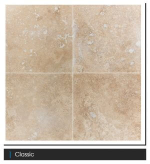 Picture of Classic Filled & Honed Travertine Tile   610 x 610mm   Order Online   South Africa