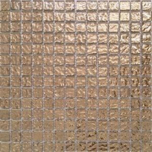 Picture of Gold Shiny Glass Mosaic Sheet | 300 x 300mm | Order Online | South Africa