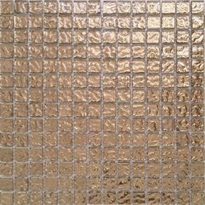 Picture of Gold Shiny Glass Mosaic Sheet   300 x 300mm   Order Online   South Africa