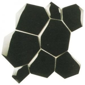 Picture of Black Shiny Glass Mosaic Sheet | 300 x 300mm | Order Online | South Africa