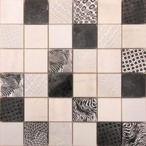 Picture of Natural Stone Matt Mix Mosaic Sheet | 300 x 300mm | Order Online | South Africa