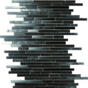 Picture of Black Silver Shiny Porcelain Mosaic Sheet | 300 x 300mm | Order Online | South Africa