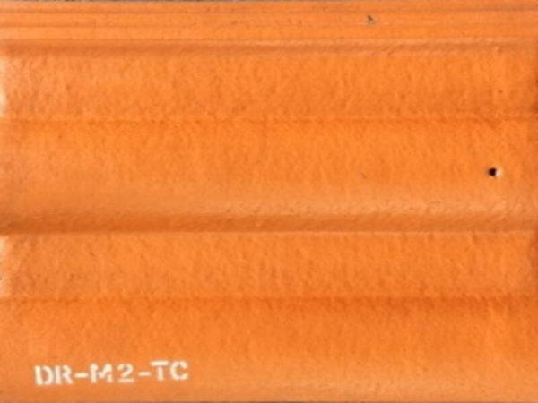 Picture of Warm Light Brown Matt Double Roman Roof Tile | 330 x 420mm | Order Online | South Africa