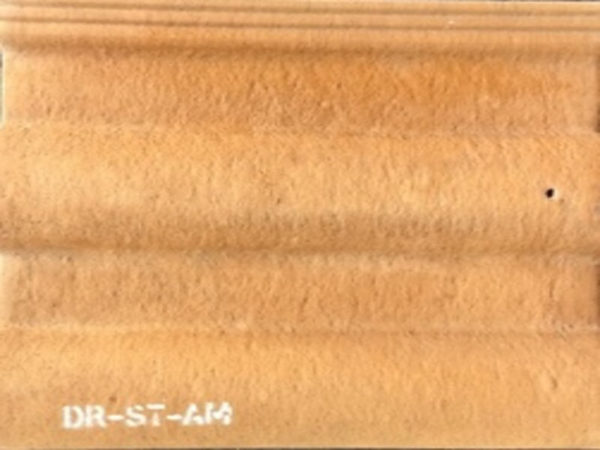 Picture of Soft Red Matt Double Roman Roof Tile 330 x 420mm | Order Online | South Africa