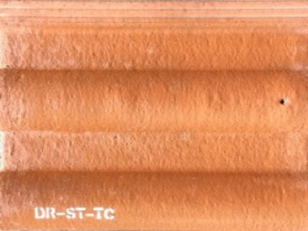 Picture of warm Red Mat Double Roman Roof Tile 330 x 420mm | Order Online | South Africa