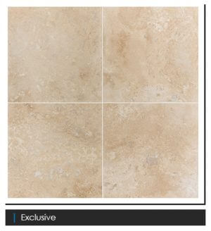 Picture of Exclusive Filled & Honed Travertine Tile   610 x 610mm   Order Online   South Africa