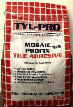 Picture of Mosaic Profix Tile Adhesive - White | 5kg | Order Online | South Africa