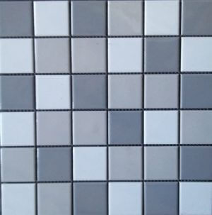 Picture of Grey Pattern Shiny Ceramic Mosaic | 306 x 306mm | Order Online | South Africa