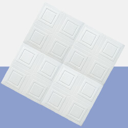 Picture of Polystyrene Ceiling Tile - White | 500 x 500mm | Order Online | South Africa