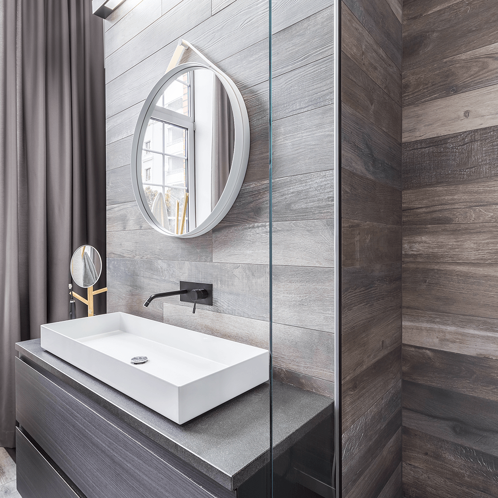 Picture of Woodlook bathroom wall tile | Tiles4all | South Africa