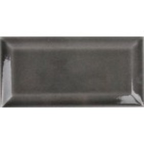 Picture of Dark Grey shiny Ceramic subway wall tile | 75 x 150mm | Order Online | Tiles4all