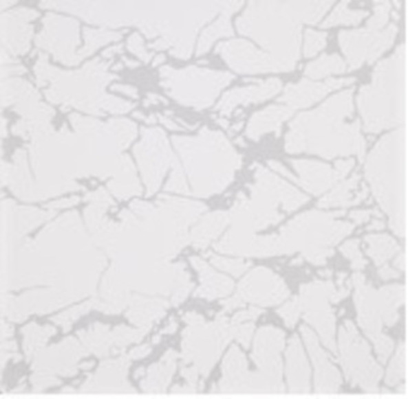Picture of White & Silver Shiny Ceramic Floor Wall Tile   400 x 400mm   Order Online   South Africa Tiles 4 All
