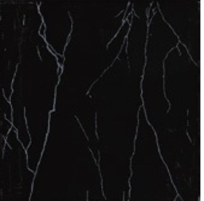 Picture of Litning Black & Silver Shiny Glazed Ceramic Floor/Wall Tile | 400 x 400mm | Order Online | South Africa