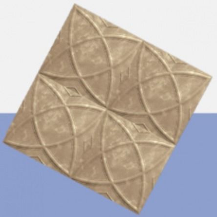 Picture of Brown Gate Polystyrene Ceiling Tile | 500 x 500mm | Order Online | South Africa