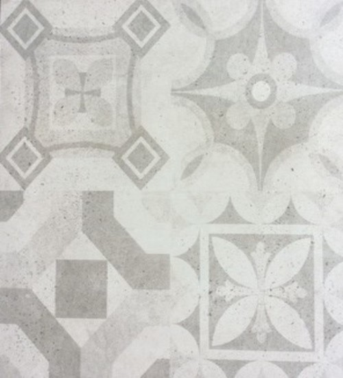 Picture of Grey Pattern Matt Ceramic Floor/Wall Tile   600 x 600mm   Order Online   South Africa