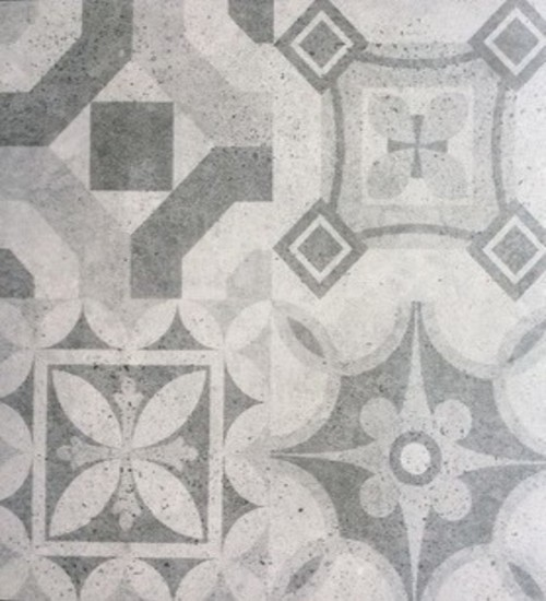 Picture of Brown Pattern Matt Ceramic Floor/Wall Tile | 600 x 600mm | Order Online | South Africa
