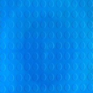 Picture of Blue Rubber Interlocking Tiles Floor | 330 x 330mm | Order Online | South Africa