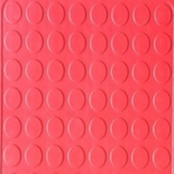 Picture of Red rubber interlocking floor tile | 330 x 330mm | Buy Online | South Africa