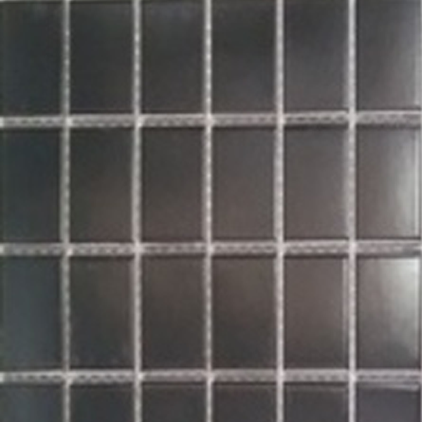Picture of Black Shiny Ceramic Mosaic | 300 x 300mm | Order Online | South Africa