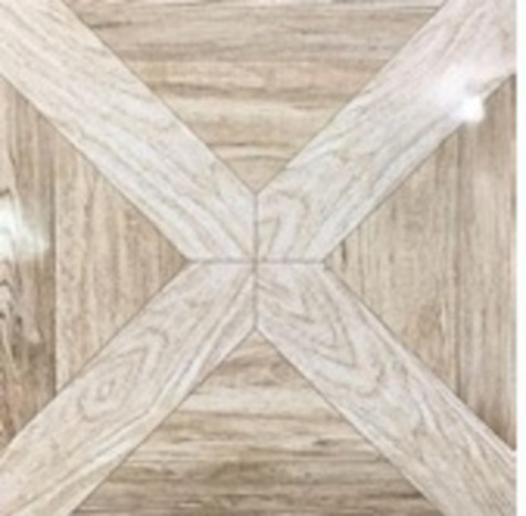 Picture of Pattern Brown Shiny Glazed Ceramic Floor/Wall Tile | 400 x 400mm | Order Online | South Africa