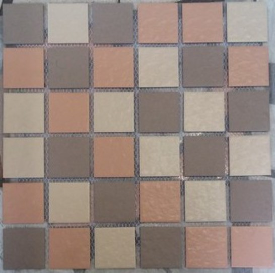 Picture of Beige Mix Ceramic Mosaic Sheet | 300 x 300mm | Order Online | South Africa
