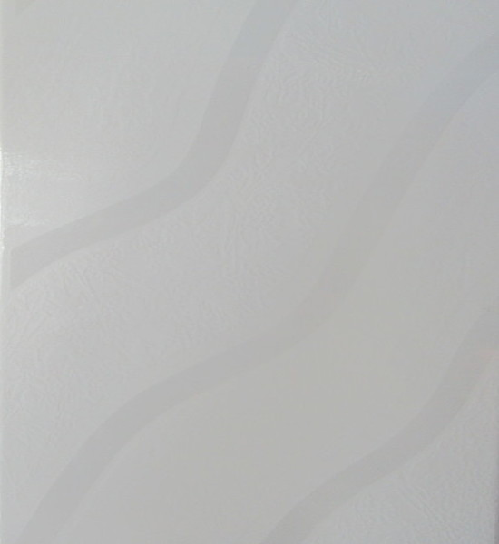 Picture of Wave White Shiny Glazed Ceramic Wall Tile | 200 x 300mm | Order Online | South Africa