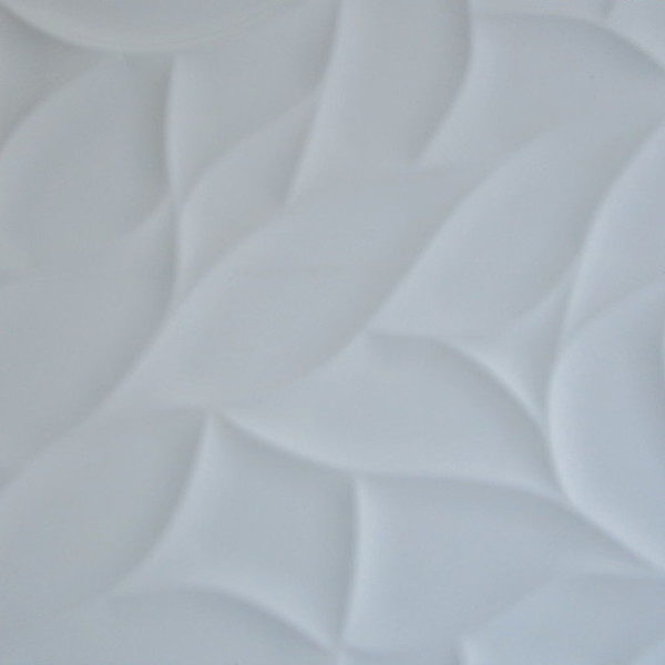 Picture of Leaf White Shiny Glazed Ceramic Wall Tile | 300 x 600mm | Order Online | South Africa