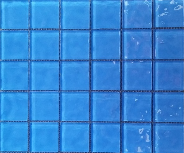 Picture of Glass Ocean Blue Mosaic | 300 x 300mm | Buy Online | South Africa