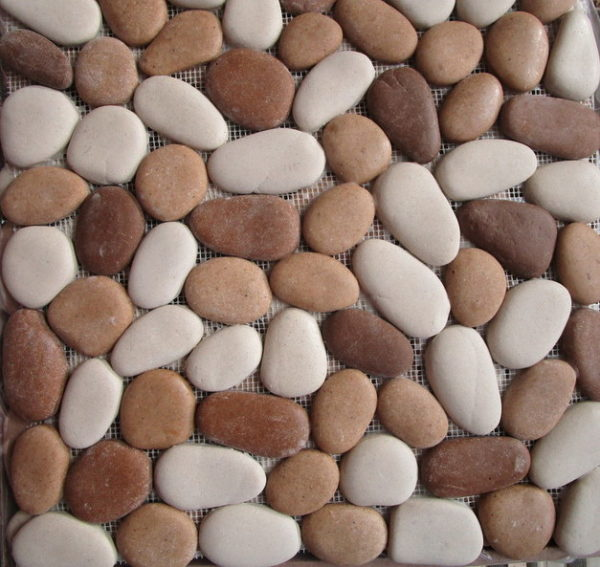 Picture of Natural Stone Look Pebble Mosaic | 300 x 300mm | Order Online | South Africa