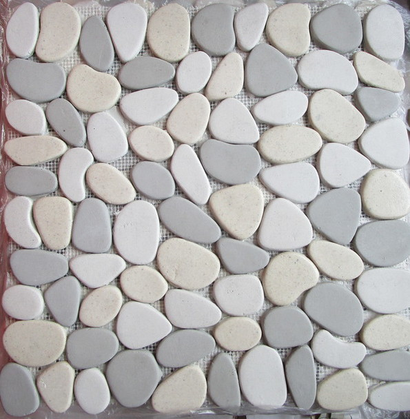 Picture of flat Natural Stone Pebble Mosaic | 300 x 300mm | Order Online | South Africa