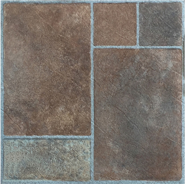 Picture of Brown Glossy Peel & Stick Tile Sheet | 305 x 305mm | Order Online | South Africa Tiles 4 All