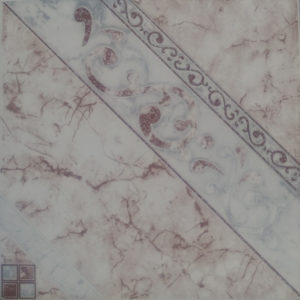 Picture of White Grey Pattern shiny Ceramic floor wall tile | 400 x 400mm | Order Now | Tiles4all