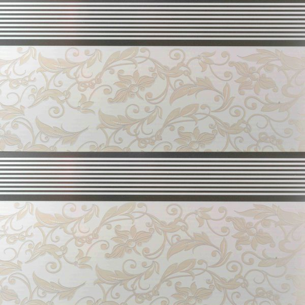 Picture of PVC Ceiling Board Floral Pattern Stripe   3900 x 300 x 6mm   Order Online   South Africa Tiles 4 All