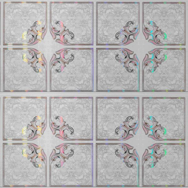 Picture of Multi Colour Effect PVC Ceiling Board Iris Diamond | 3900 x 300 x 6mm | Order Online | South Africa Tiles 4 All
