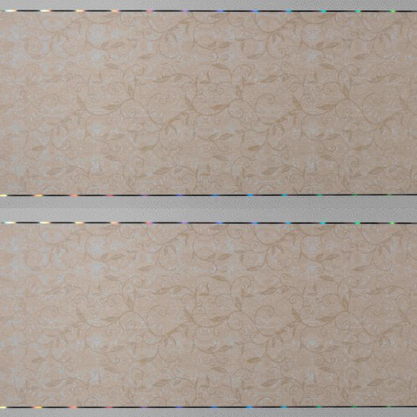Picture of Brown Flower Pattern PVC Ceiling Board Joy | 3900 x 300 x 6mm | Order Online | South Africa