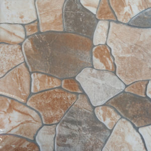 Beijing Stone Glazed Ceramic Floor Design Tile | 400 x 400mm | Tiles 4 All