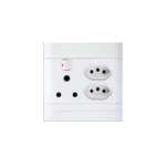Picture of SINGLE Switched Socket - 1x16A + 2 x IEC