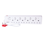 Picture of 12 Way Multiplug 6X16A, 5IEC & SHUCKO 500mm - Surge